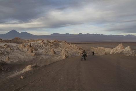 El Salar de Atacama, en el norte de Chile, se encuentran las reservas de litio. | J. B.