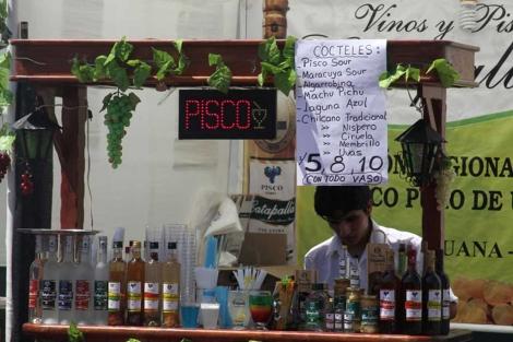 Primer festival de Pisco de Perú.| Jorge Barreno