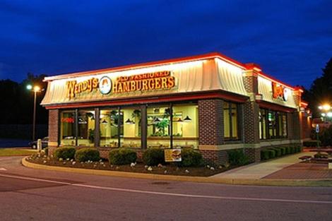 Uno de los restaurantes de Wendy's.