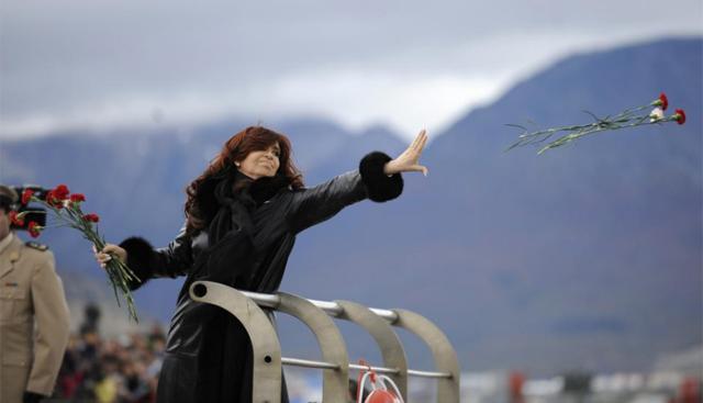 Homenaje de Cristina Fernández de Kirchner en el aniversario de la Guerra de las Malvinas. | Reuters