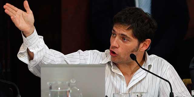 El viceministro de economía argentino, Axel Kicillof. | Reuters