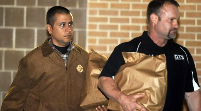 George Zimmerman en el momento de abandonar la prisión. | Reuters