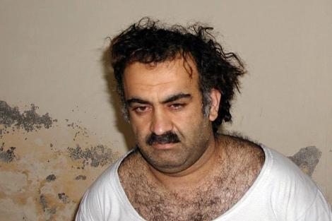 Jalid Sheij Mohamed, tras ser capturado.   EL MUNDO