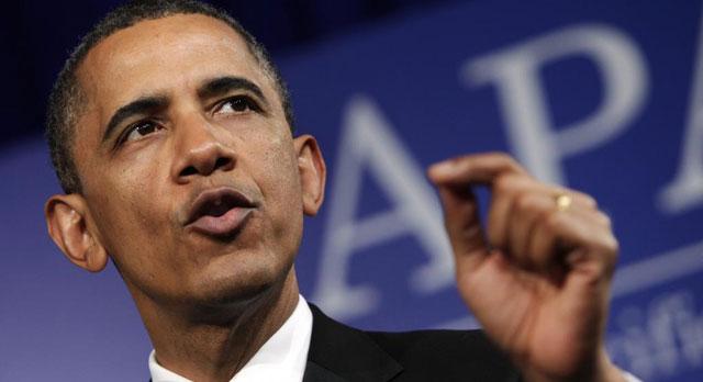 Barack Obama en una intervención ayer.| Reuters