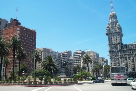 Imagen de la ciudad de Montevideo.