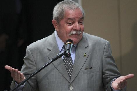 Luiz Inácio Lula da Silva durante una comparecencia el pasado 30 de mayo. | Reuters