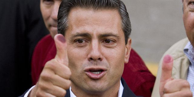 Enrique Peña Nieto. | Afp