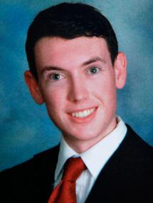 James Holmes, en una imagen del instituto.