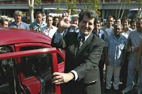 Oswaldo Payá en La Habana.   Afp