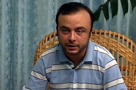 Ángel Carromero, en una imagen del vídeo hecho público. | Efe