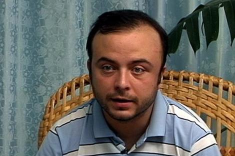 Carromero, durante su intervención pública en vídeo.  Efe