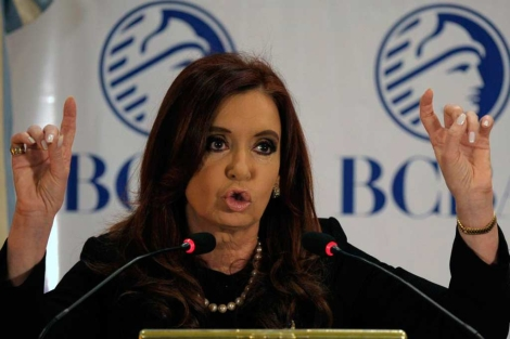 Cristina Fernández de Kirchner. | Afp