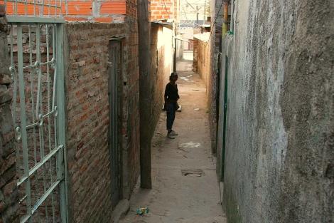 La 'villa 21-24', también conocida como Zavaleta.| Alejandro Cherep