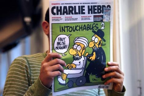 La portada del semanario francés 'Charlie Hebdo'.| Afp