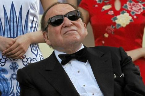 El magnate de Eurovegas, Sheldon Adelson.