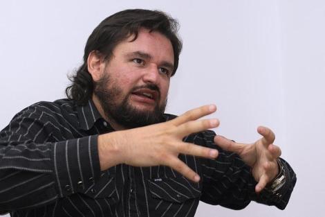 El periodista Diego Enrique Osorno. | Efe