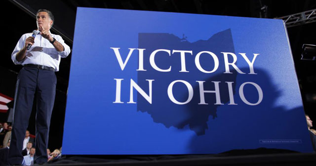 Mitt Romney, durante su visita a Ohio esta semana.  Reuters
