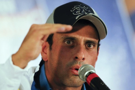 El líder de la oposición venezolana, Henrique Capriles. | Reuters