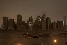Manhattan, a oscuras. | Reuters