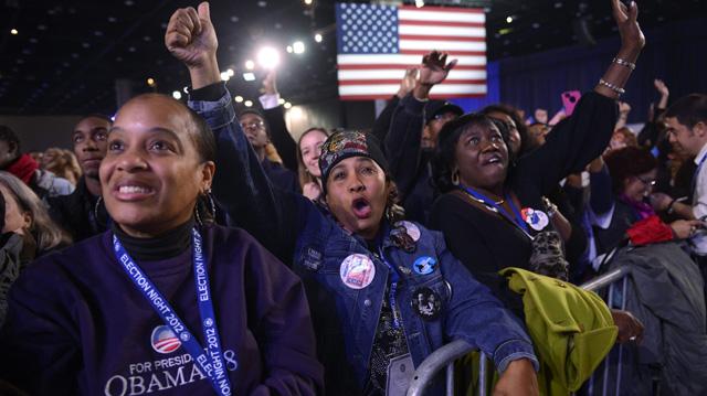 Seguidores de Barack Obama celebran los resultados. | Efe