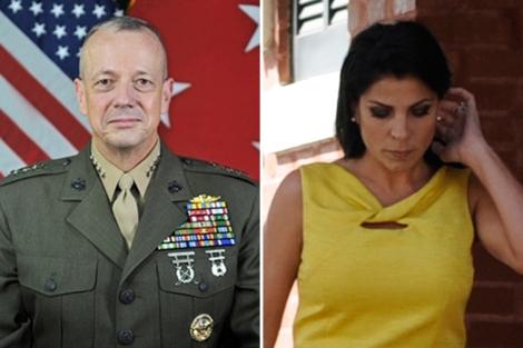 John Allen y Jill Kelley. | Departamento de Defensa de EEUU / Reuters