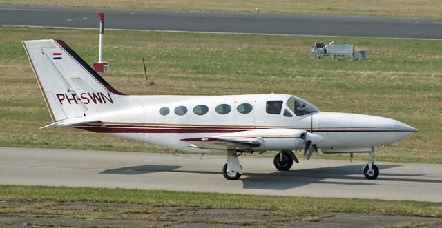 Un avión Cessna, similar al adquirido por el presidente uruguayo. | Karsten Palt