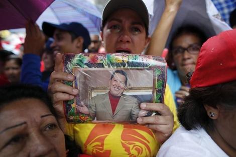 Partidarios de Hugo Chávez en Miranda. | Reuters