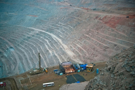 Imagen de una mina de Chile.