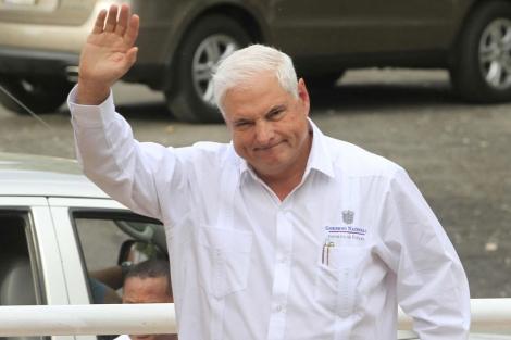 El presidente de Panamá, Ricardo Martinelli, el pasado 13 de diciembre. | Reuters
