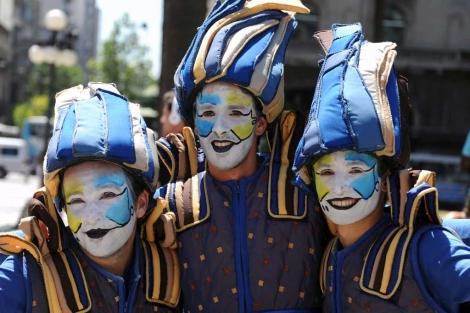 Todo preparado para el carnaval.| Presidencia