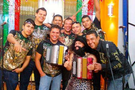 Los integrantes de 'Kombo Kolombia'.