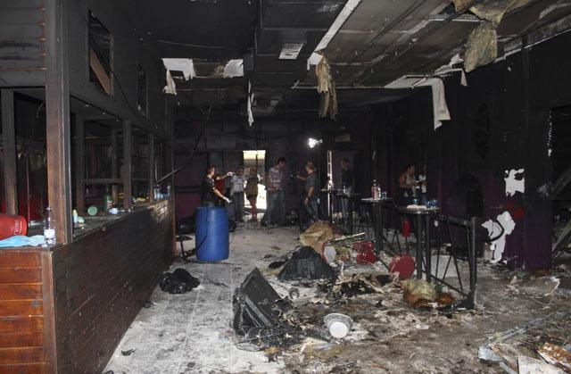 Imagen del interior de la discoteca.| Reuters