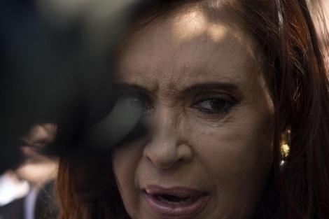 Cristina Fernández de Kirchner.| Afp