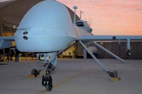 Un avión no tripulado