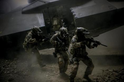 Los SEALs en la película 'La noche más oscura'. | E.M.