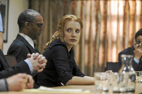 Jessica Chastain interpreta a la líder de los SEALs en 'La noche más oscura'.