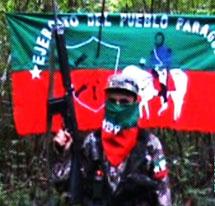 El líder de la guerrilla.