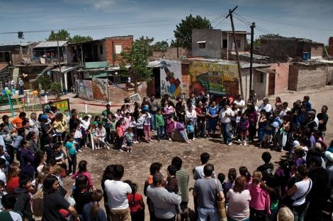 Asamblea vecinal en el barrio de Zavaleta. | La Poderosa
