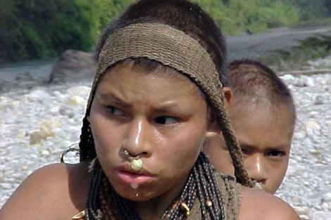 Los nantis, una de las tribus en peligro.| © Anon/ Survival