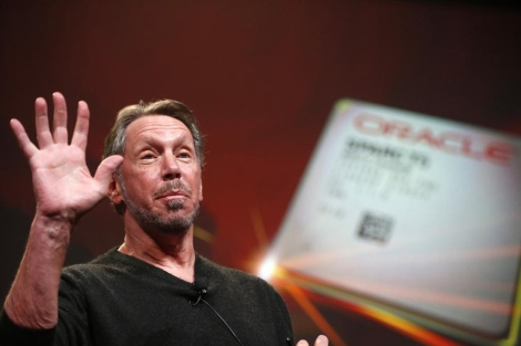El consejero delegado de Oracle, Larry Ellison. | Reuters