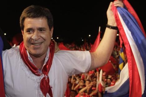 Horacio Cartes.| Reuters