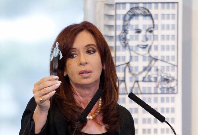 La presidenta de Argentina, Cristina Fernández de Kirchner.   Efe
