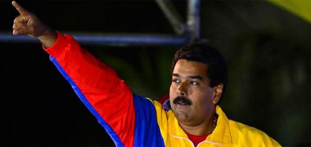 Maduro se proclama vencendor en las elecciones.   Efe