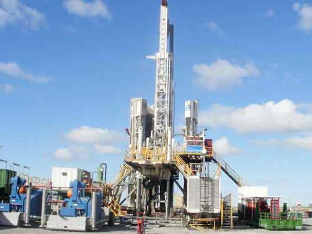 Explotación petrolífera descubierta por Repsol-YPF en Vaca Muerta. | EL MUNDO