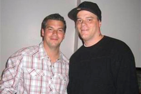 Los hermanos JP y Paul Norden, ambos heridos en las explosiones. | Facebook