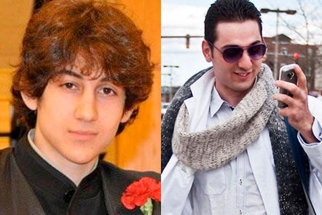 Dzhokhar y Tamerlan Tsarnaev.
