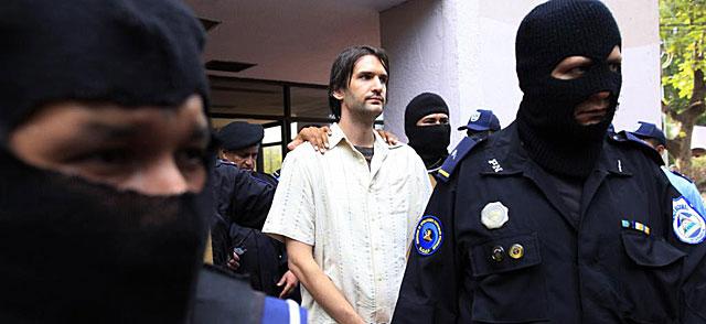 Eric Justin Toth, detenido en Nicaragua. | Reuters