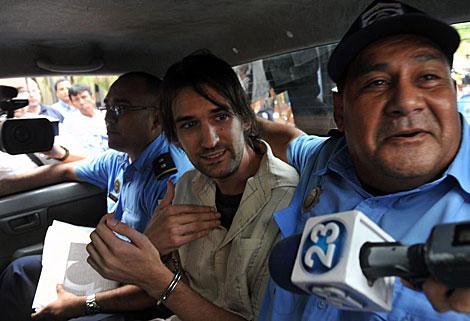 Eric Justin Toth, detenido en Nicaragua. | Afp