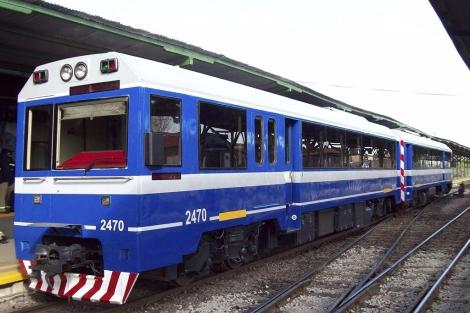 Uno de los trenes adquiridos por Argentina en Buenos Aires | Efe