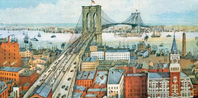 El puente de Brooklyn. [MÁS IMÁGENES]